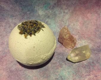 Lavender Cedarwood Bath Bomb | Aromatherapy | Lavender Bath Bomb | Natural Bath Bomb | Kids Bath Bomb | Cedarwood Bath Bomb | Akasa |