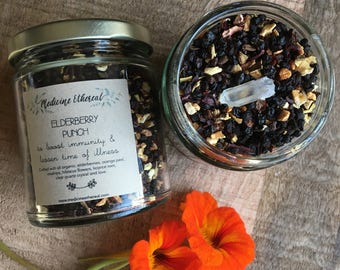 Elderberry Punch Organic Herbal Immunity Tea