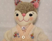 Lily - Handmade Kitten Doll