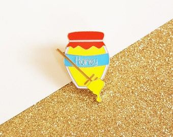 Honey Pot enamel pin badge
