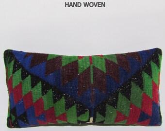 handwoven pillow kilim pillow cover tapestry pillow throw pillow cover decorative throw pillow kilim pillow case outdoor lumbar pillow F2297