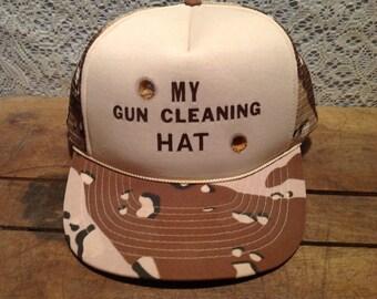 Vintage Gun Cleaning Hat