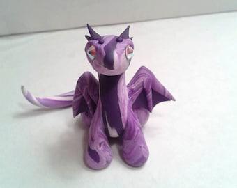 Purple Swirled Small Dragon