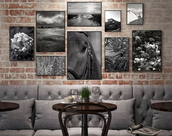 Large Gallery Wall Photo Wall, Photography Set, Photo Gifts, Photo Print Set // FRAMES NOT INCLUDED