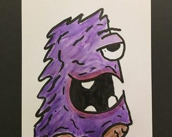 Harry beak monster