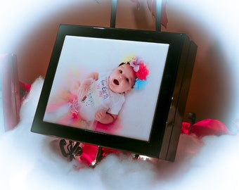 Photo Tile Box  Keepsake Box