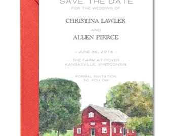 vermont wedding invitation deposit barn wedding invite rustic wedding invitation fall autumn