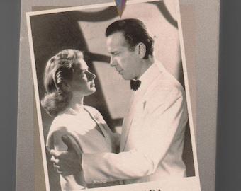 Casablanca ,   VHS movie  Humphrey Bogart, Ingrid Bergman...