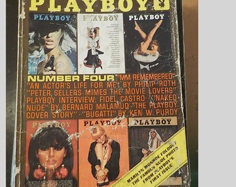 Playboy Entertainment Magazine For Men The Best From Playboy Number Four Issue