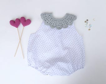 Baby Romper, Baby Body Suit, Baby Play Suit, Baby Girl Romper, Baby Clothing Set, Baby Girl One Piece, Baby Girl Outfit