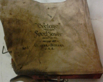Cyclone seed sower