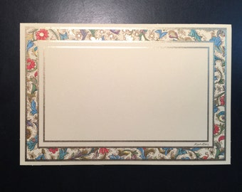 Handmade Letter Writing Card Set Imported from Florence, Italy
