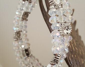 Handmade Bracelet with Swarovski Element Crystals