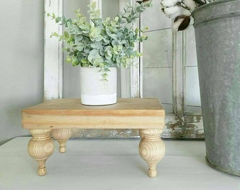 Weathered Oak Farmhouse Tray