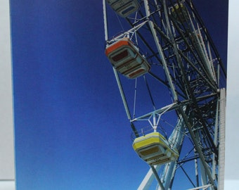 "Ocean City Ferris Wheel Blank Card 4.25"" x 5.5"" (FREE SHIPPING!)"