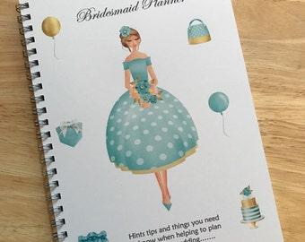 A5  Bridesmaid Notebook Wedding Planner Journal Guide