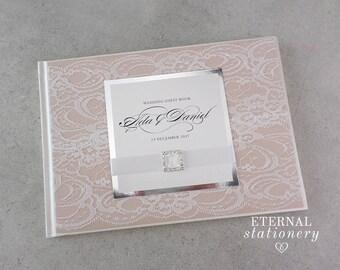 """Wedding Guest book, Hardcover - """"Ada"""""""