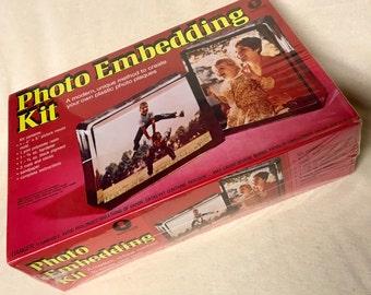 Vintage Photo Embedding Kit - 1973 - Unopened