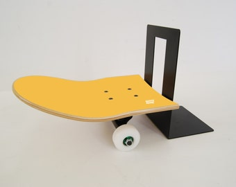 Skateboard Bookend - Yellow by skate-home