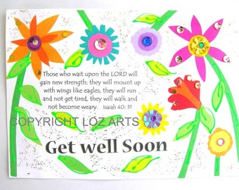 Messianic Get Well Card