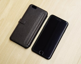 genuine leather case bumper cover Ultra Slim for Iphone 6 e Iphone 6s