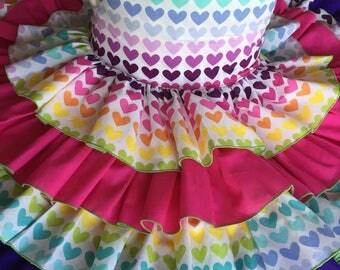 Tiered Ruffle Dress size 5