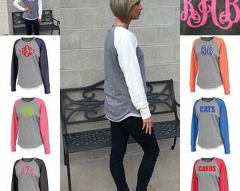 Monogrammed Tunic Sweatshirt