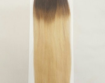 "18"" 100grs,100s,Stick (I) Tip 100% OMBRE Human Hair Extensions #T2/60 (Top 6"" and bottom 12"")"