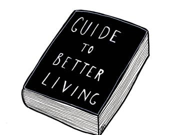 Guide To Better Living - Art Print - Grinspoon