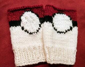 Custom Finger less Glove.