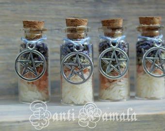 Bless this home spell bottles/magic spells/bottle charm/magick/magical charm/magic spell bottle/good luck charm