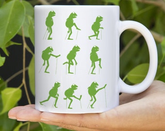 Ceramic Coffee Mug Monty Python - Ministry of Silly Frog Walks - 11oz