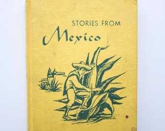 Stories from Mexico - Vintage Children's Book