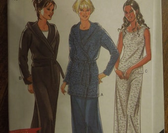 New Look 6901, size small to xlarge, UNCUT sewing pattern, craft supplies, stretch knit fabrics, skirt, top, jacket