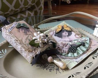 Mother Card and Gift Set - Victorian Mother's Day - Vintage Style Mom