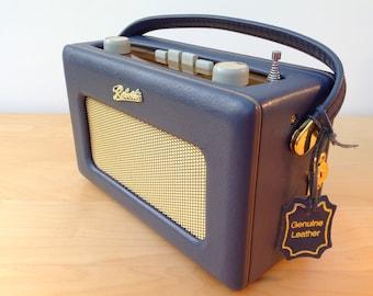 Vintage Genuine Leather Roberts Revival Radio R250