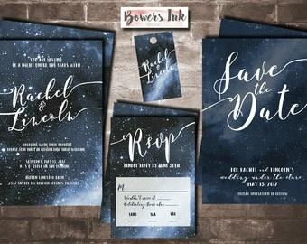 Galaxy Wedding Invitations