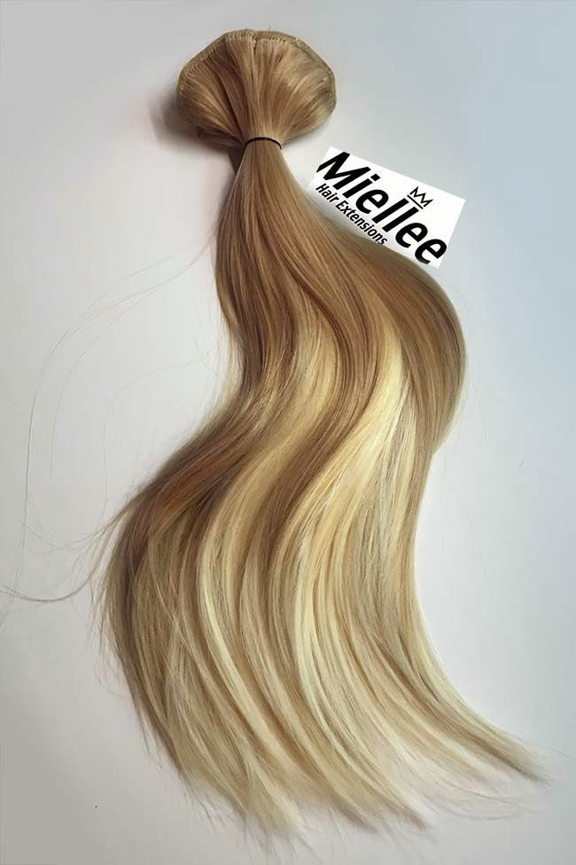Medium golden blonde balayage weave hair extensions silky zoom pmusecretfo Image collections
