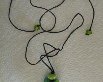 Single Glass Bead Necklace