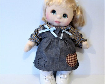 Mattel My Child Doll Fully Dressed 1985  / MEMsArtShop