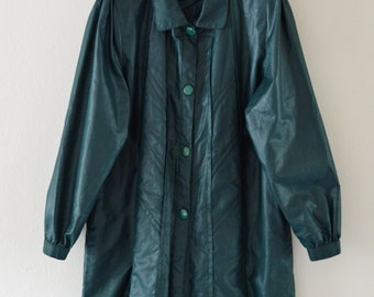 Jade green jacket | Etsy