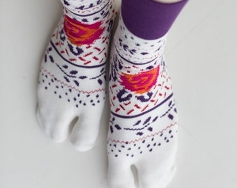 Tabi Split Toe Socks Flip Flop Socks JAPAN