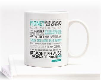 Dads Favourite Sayings Mug