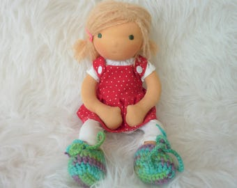 """Annely 12"""" Waldorf inspired Doll"""