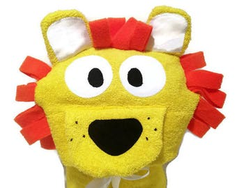 Baby Towels Lion Hooded Towel Gifts for Babies Baby Hooded Towel Hooded Bath Towels Kids Hooded Towel Kids Pool Towels