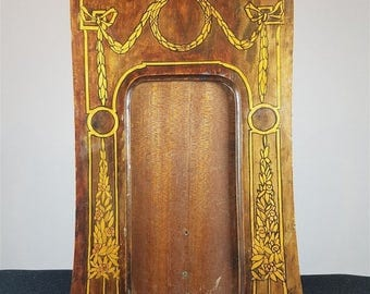 Antique Arts and Crafts Art Nouveau Wooden Picture Frame Late 1800's - Early 1900's