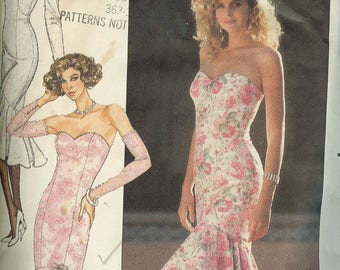 Butterick 6208; ©1988;  Misses' / Misses' Petite Dress.