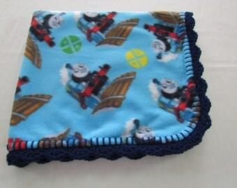 292 - Thomas the Train Toddler Fleece Blanket