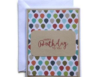 manly birthday cards  etsy, Birthday card