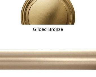 """Designer Metals 1 3/8"""" Telescoping Pole (gilded Bronze, 120""""-180"""")"""